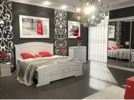 Спальня Инесса (Неман) фото примеров оформления