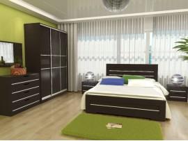 Спальня Соломия (Неман) фото примеров оформления (венге)