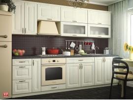 Кухня Грация (Vip-master) фото примеров оформления в цвете бьянко