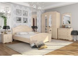 Спальня Николь (Сокме) фото примеров оформления, береза