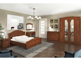 Спальня Николь (Сокме) фото примеров оформления, орех/яблоня