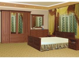 Спальня Людовик (Мебель-Сервис) фото примеров оформления