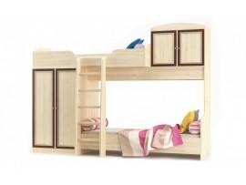 Детская Дисней (Мебель-Сервис) Кровать Горка