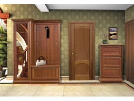 Прихожая Людовик 150 (Мебель-Сервис) правый