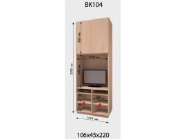 Приставка шкафа-купе ДОМ (2 двери) ВК 104 (для ТВ)