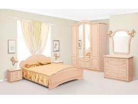 Спальня Камелия (Свiт Меблiв) Светлая яблоня (фото примеров оформления)