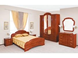 Спальня Камелия (Свiт Меблiв) Глянцевая (фото примеров оформления)