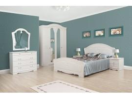 Спальня Луиза (Свiт Меблiв) Белое дерево (фото примеров оформления)