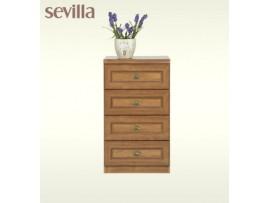 Детская Sevilla (BRW) Комод 4s_50