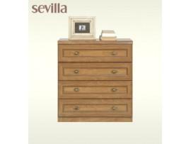 Детская Sevilla (BRW) Комод 4s_80