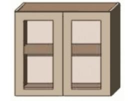 Кухня София Плаза (Сокме) Верх 100 витрина