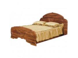 Спальня Эмилия (Свiт Меблiв) Кровать 160 (старый дуб)