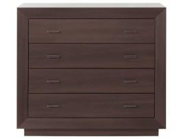 Модульная мебель Ларго (BRW) Комод PKOM4S/11-WE