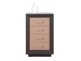 Модульная мебель Ларго (BRW) Комод PKOM4S/6-WE