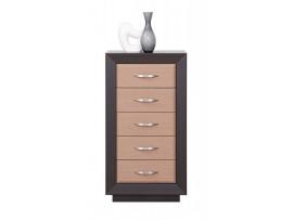 Модульная мебель Ларго (BRW) Комод PKOM5S/6-WE