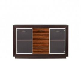 Модульная мебель Ларго (BRW) Витрина PREG2W1D/15-WE