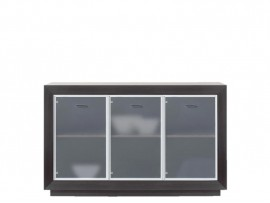 Модульная мебель Ларго (BRW) Витрина PREG3W/15-WE
