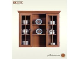 Модульная мебель Нью-Йорк (Гербор) Витрина надставка GNAD 117w