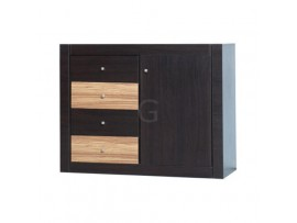 Модульная мебель Капри (Гербор) Комод 1d4s/110