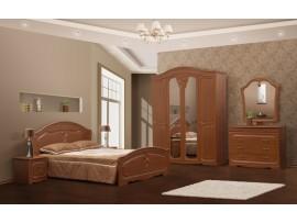 Спальня Луиза (Свiт Меблiв) Орех (фото примеров оформления)