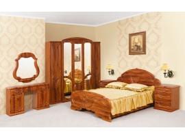 Спальня Эмилия (Свiт Меблiв) Старый дуб (фото примеров оформления)