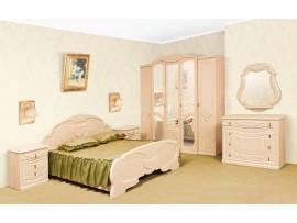 Спальня Эмилия (Свiт Меблiв) Перламутр (фото примеров оформления)