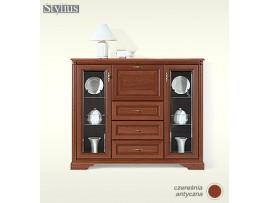 Модульная мебель Стилиус (BRW) Витрина бар NKOM 2w3s1b
