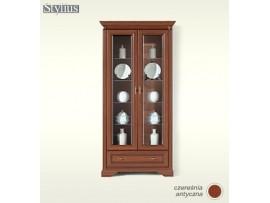 Модульная мебель Стилиус (BRW) Витрина NWIT 2D1S