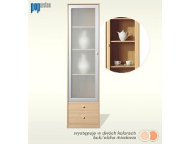 Модульная мебель ПОП (Гербор) Витрина KW2S/19/5-ОМ/SRE