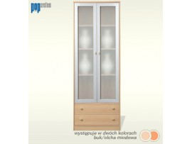 Модульная мебель ПОП (Гербор) Витрина kw2s/19/7-OM/SRE