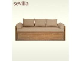 Детская Sevilla (BRW) Кровать-диван 80/160 +подушки+матрас