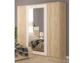 Спальня Маркос (Мебель-Сервис) Шкаф 4д