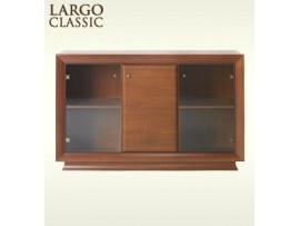 Модульная мебель Ларго Классик (BRW) Витрина REG 2W1D/15