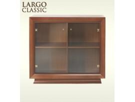 Модульная мебель Ларго Классик (BRW) Витрина REG 2W/11