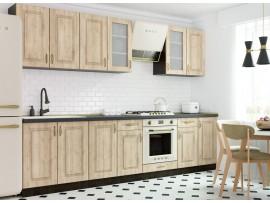 Кухня Грация (Vip-master) фото примеров оформления в цвете дуб пшеничный